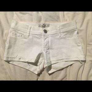 Hollister White Shorts | Size 0